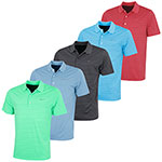 KX89 Greg Norman Engineered Stripe Technical Polo (KX89)